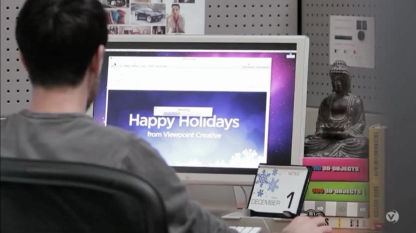 Viewpoint Creative – Holiday Card o La Vida de Los Diseñadores Gráficos en 1 Minuto